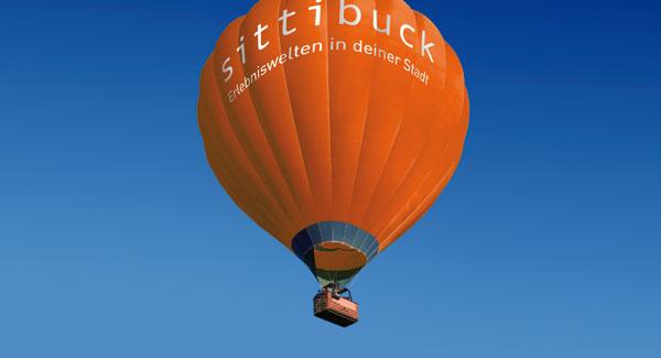 sittibuck verlost eine Ballonfahrt für zwei